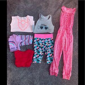 Girls size 4 clothes summer bundle